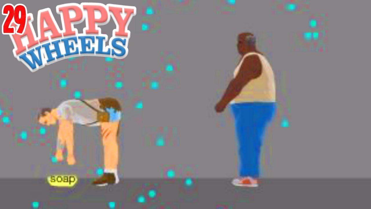 Don 39 t ever drop the soap happy wheels 29 coryxkenshin - Let s play happy wheels ...