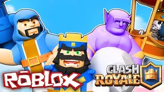 CLASH ROYAL IN ROBLOX. BLOX ROYAL TYCOON IN SPANISH