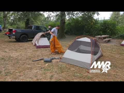 Navy MWR Community Recreation Great Navy Campout 2019