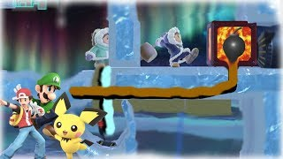 Character Specific challenges I made w/ Stage Builder [Smash Ultimate]