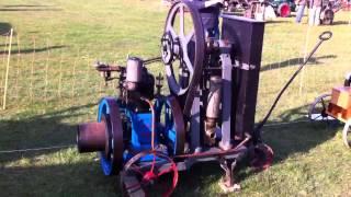 1914 Guy & Mital Wine Pump - Moteur Japy Hit & Miss Vertica