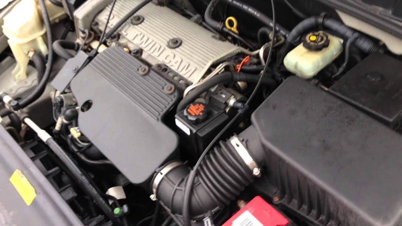 EYPN242 2000 Pontiac Grand Am 24 Twin Cam Engine Test