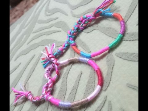 How To Diy Friendship Bracelets Tutorial You