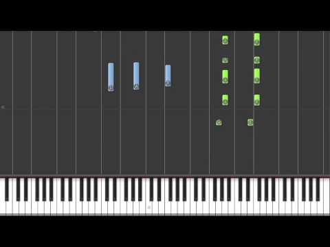 Emotional Piano Music - Last Leaf Falls | Synthesia Tutorial