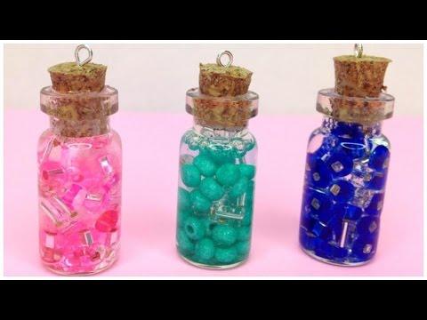 Glass Bottle Pendants Diy glass jar pendants kawaii youtube diy glass jar pendants kawaii audiocablefo