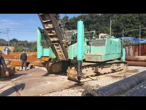[ Winwin Used Machinery ] Pile Driver NIPPON SHARYO DH408 1987yr For Sale