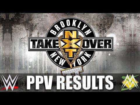 StrayaMania - NXT TakeOver Brooklyn II Results