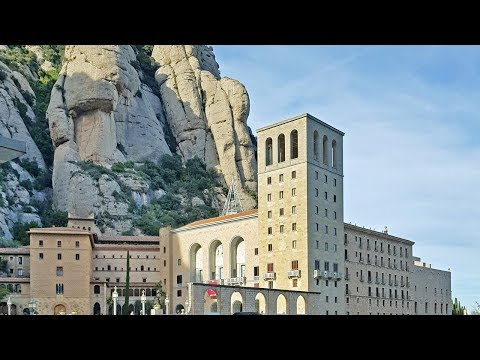 WALKING TOUR [2018.04] Montserrat Monastery In Catalonia, Spain