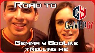 GAMERGY - Justo después de ganar a OG - Gemma y GodLike trolling me :(