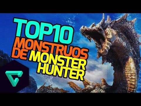 Top 10 Monstruos más impresionantes de Monster Hunter Ultimate 4 | TGN thumbnail