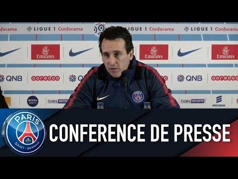 Paris Saint-Germain PRESS CONFERENCE PARIS SAINT-GERMAIN vs FC METZ