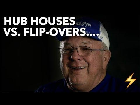 Hub Houses Vs  Flip-Overs (Ice Houses) — Ice Pros Q&A ⚡