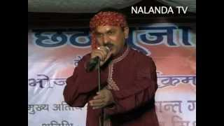 GORIYA CHAND KE INJORYA NIAR GOR BADU HO, [CHHTH POOJA PROGRAM, DELHI -2012] , PART-2