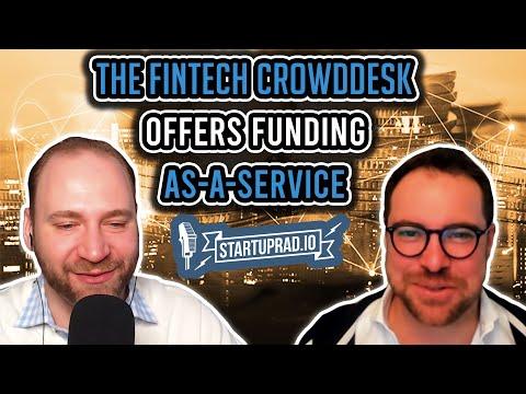 The Fintech CrowdDesk Offers Funding-As-A-Service