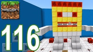 Minecraft: PE - Gameplay Walkthrough Part 116 - Find The Button: Futuristic Edition (iOS, Android)