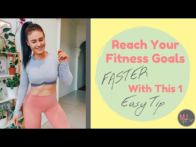 EPISODE 2 - Reach Your Health & Fitness Goals FASTER By Using This 1 Easy Adjustment!