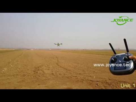 Two units of drone agriculture sprayer for Colombia
