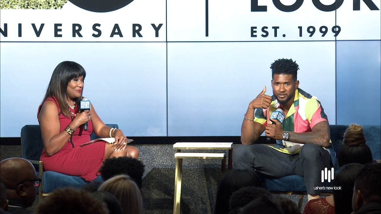 Usher Talks About The Importance of Giving Back