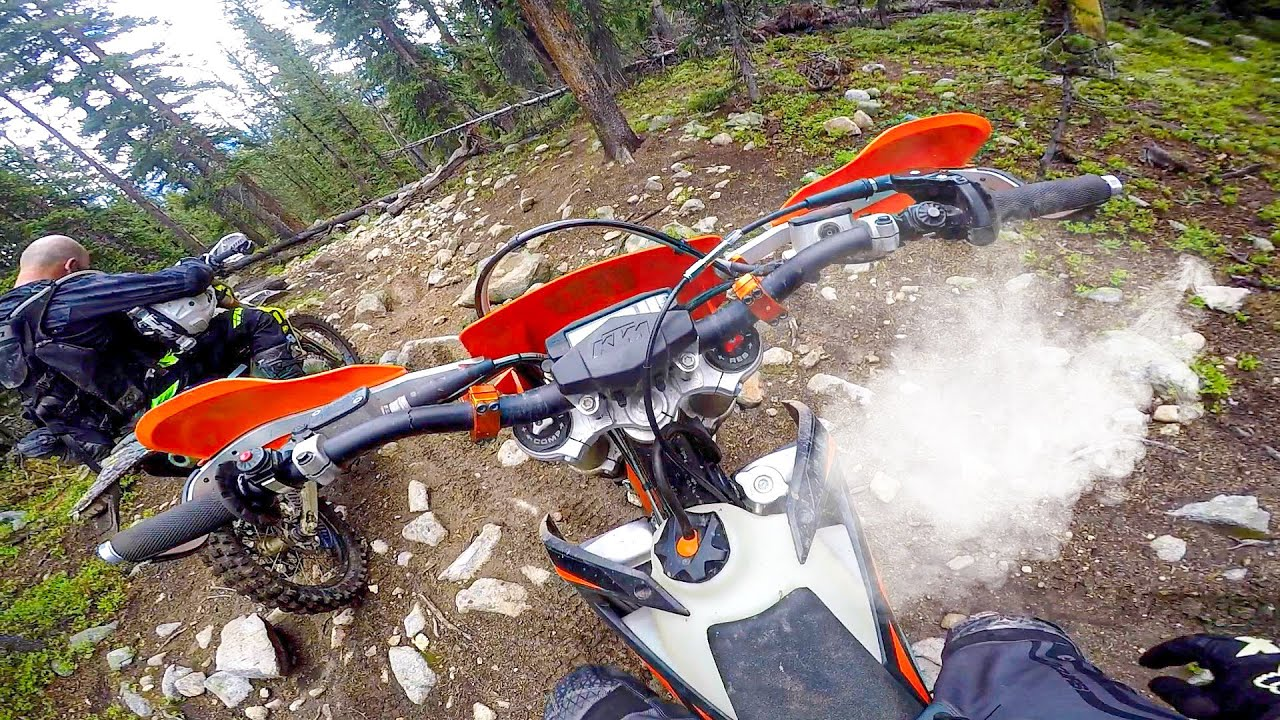 My KTM Overheated In Colorado..
