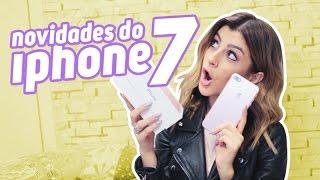 COMPREI UM IPHONE 7 PLUS!!! Unboxing + Novidades!!!
