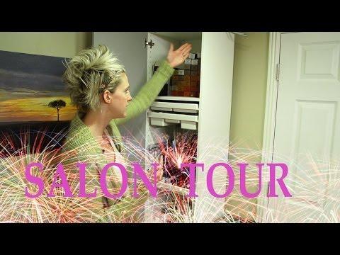 Salon Tour // My Home Salon // Room Tour