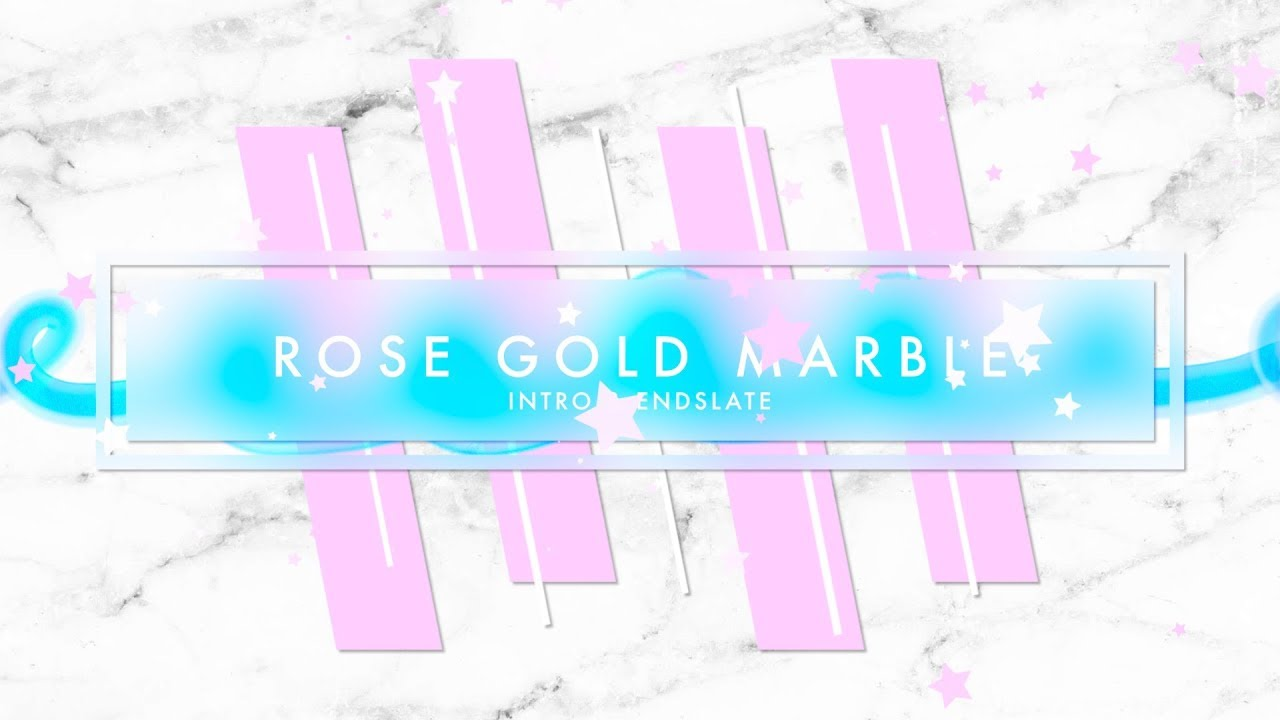 Download ROSE GOLD MARBLE PACK: INTRO & ENDSLATE (NO TEXT) - YouTube