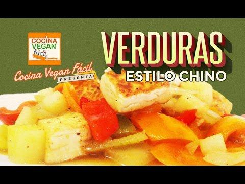 Verduras estilo chino  Cocina Vegan Fcil Reeditado