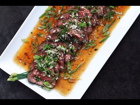 Andrew Zimmern Cooks: Beef Tataki
