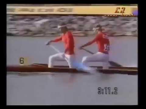 C2 1000m final Seoul 1988 Summer Olympics