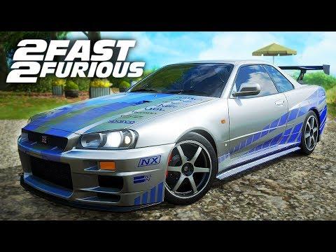 2 FAST 2 FURIOUS AUTOS in Forza Horizon 4! thumbnail