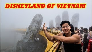 Ba Na Hills GOLDEN BRIDGE in Da Nang | The Disneyland of VIETNAM?!