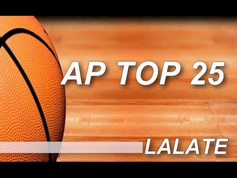 AP Top 25 College Basketball Rankings 2015 Poll Standings
