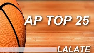 AP Top 25 College Basketball Rankings 2015 Poll Standings