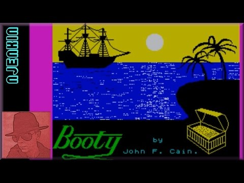 Booty - on the ZX Spectrum 48K !! with Commentary