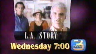 L.A. Story CFCN Promo, Mar 17 1995