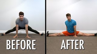 Achieving The Full Splits in One Day