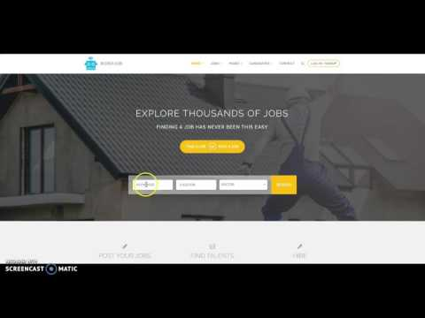 Robojob WordPress job theme