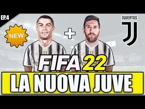 FIFA 22:  ECCO LA NUOVA JUVENTUS DI ALLEGRI! UNA SUPER SQUADRA!! FIFA 22 CARRIERA ALLENATORE #4