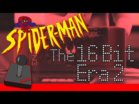 Spider-Man Games: The 16-Bit Era - PART 2 - H4G