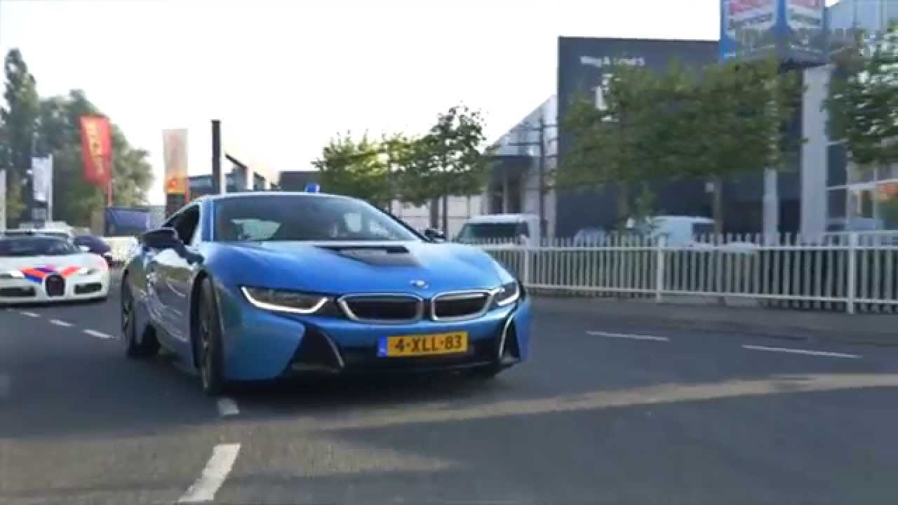 Police Bugatti Veyron High Speed Pursuit Of A Bmw I8 Youtube