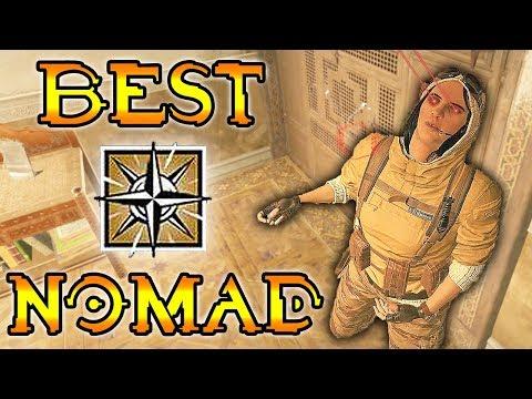 BEST WAY TO USE NOMAD - Rainbow Six Siege (Operation Wind Bastion)