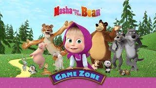 Маша и Медведь - Игровая зона (РАЗВИВАЮЩАЯ ИГРА ДЛЯ ДЕТЕЙ)