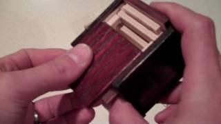 Cnc Cut Puzzle Box