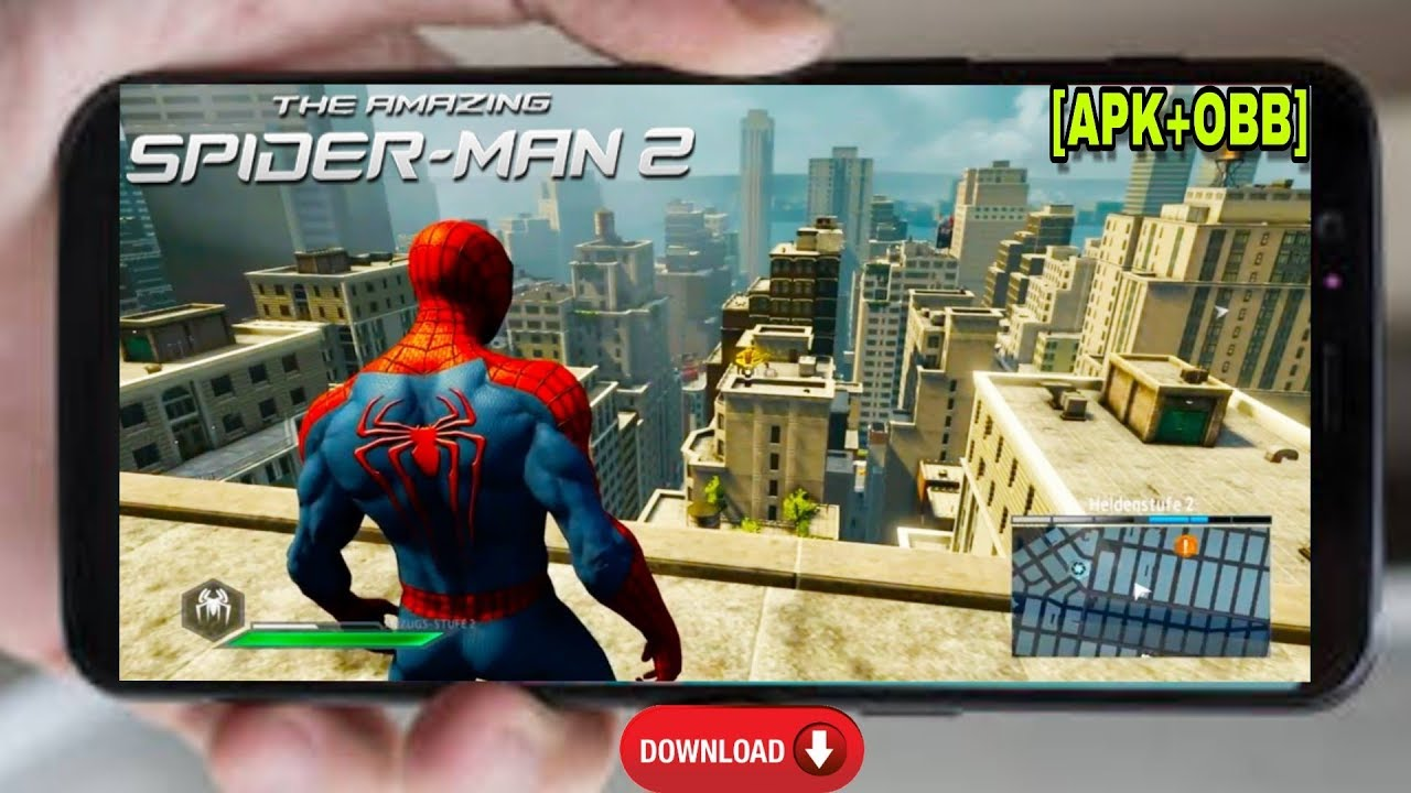 The Amazing Spiderman 2 Game For Android [ APK+OBB ] | Download Both Apk+Mod Version Android  #Smartphone #Android