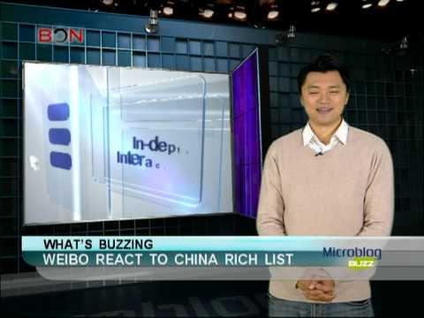 Weibo react to China rich list - Microblog Buzz - February 15,2013 - BONTV China