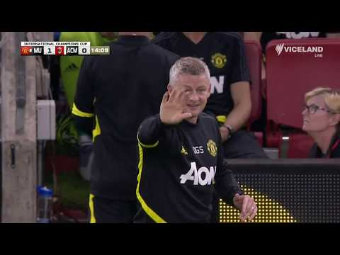 Manchester United v AC Milan - HIGHLIGHTS - International Champions Cup