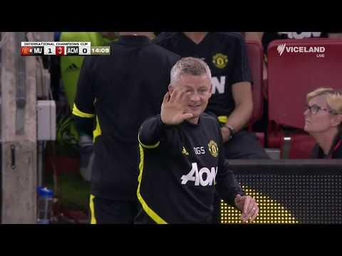 Manchester United v AC Milan - HIGHLIGHTS - International Champions Cup