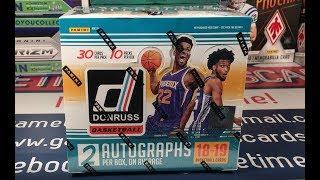 Gambar cover 2018-19 Donruss Basketball Hobby Box Break...Argh!