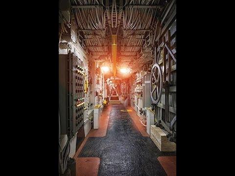Battleship Wisconsin Engine Room Now Open