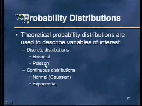 Part 02: Probability, Probability Distributions